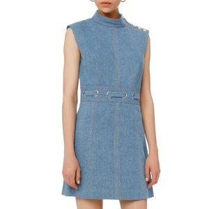 VERONICA BEARD Nico Mini Denim Dress NEW!